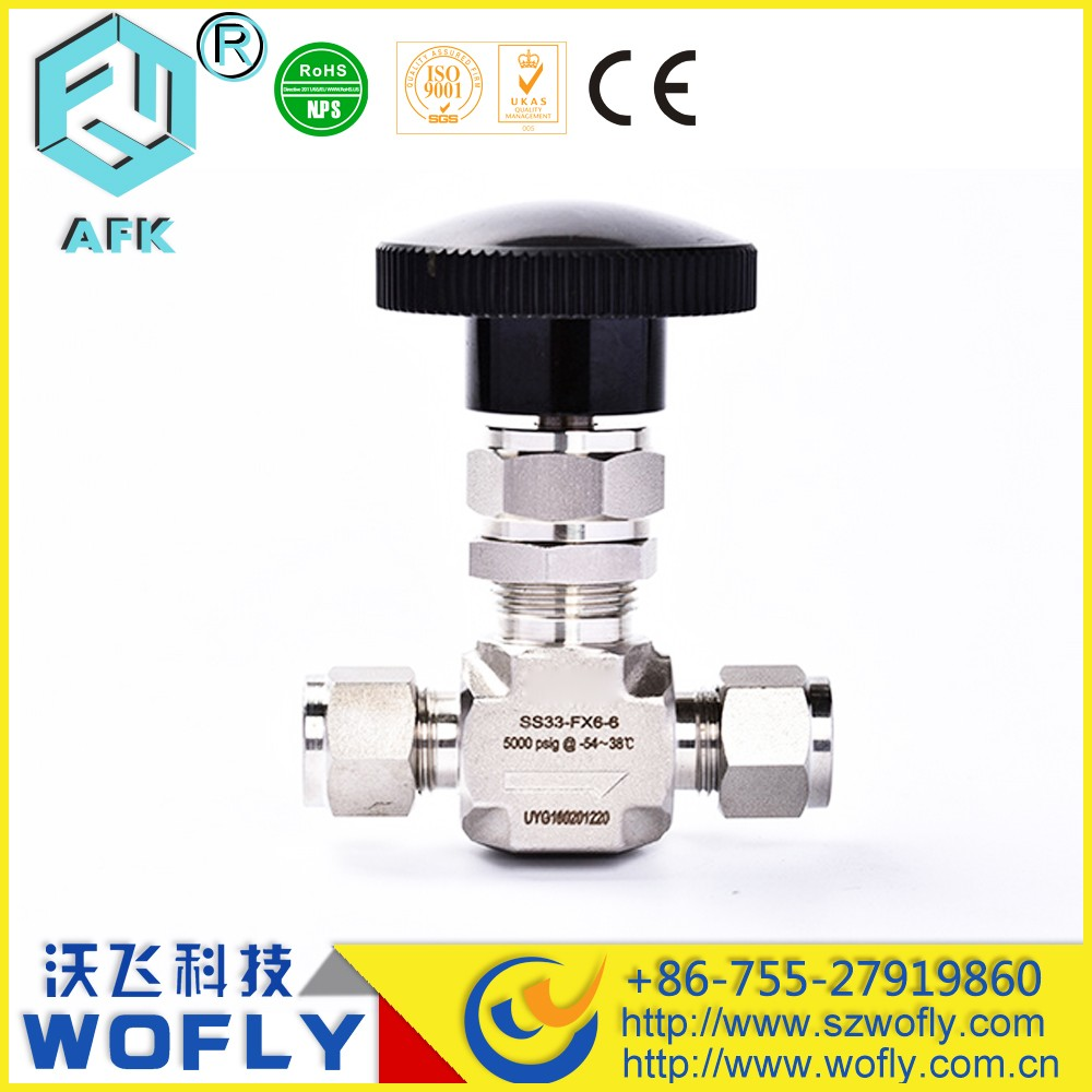 Gas air flange Needle Valve