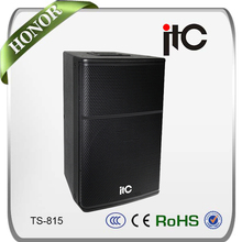 ITC Professional power sound system 15 inch pro concert speaker box