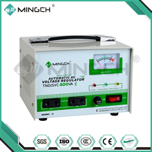 MINGCH China High Quality 220V AC 0.5KVA Single Phase Voltage Regulators