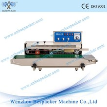 FRD-1000-1 Solid Ink Coding With Counting Function Continuous Plastic Bag Table Top Sealing Machine