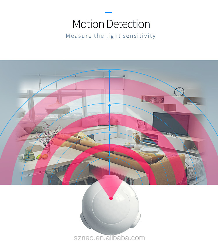 zwave devices mini pir sensor used for smart home security system