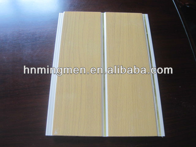 20cm with groove pvc wall panel
