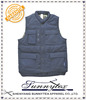 Sunnytex TC polycotton navy blue padded personalized men gym vest