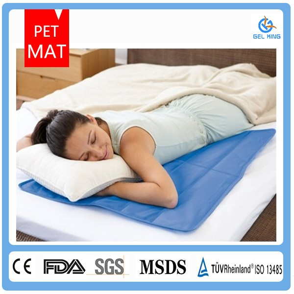 Hot selling Cool Bed Buddy Gel Pad To Relieve Fatigue