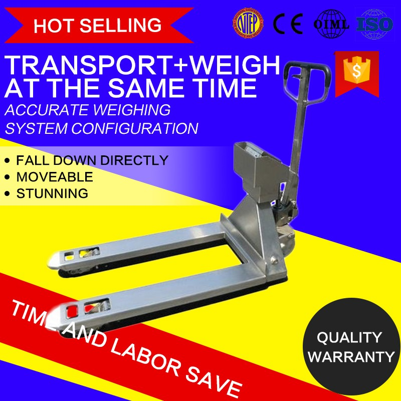2500KG Stainless Steel Waterproof forklift hydraulic scale