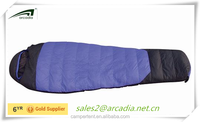 Wholesale heated camping sleeping bag for cold weather