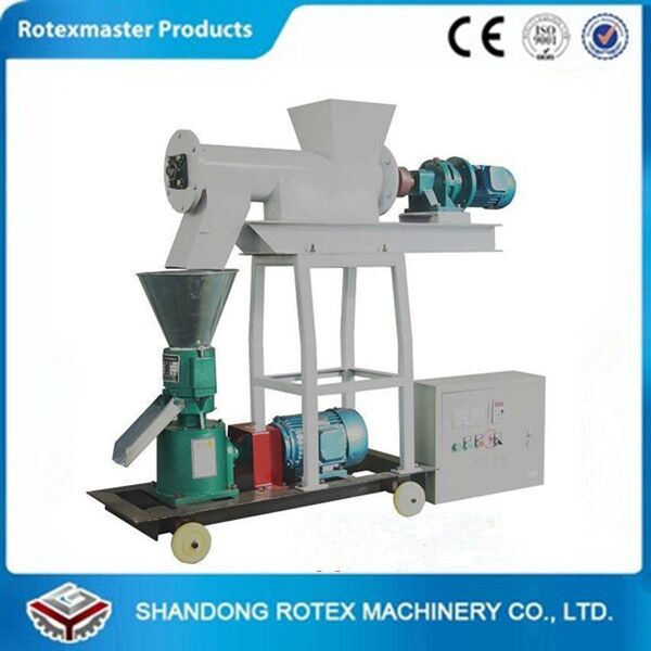 Mini Used Fish Chicken Feed Manufacturing Machinery for Sale