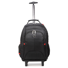 best designer multifunction 600D polyester laptop bag trolley removable