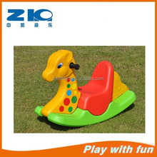 Indoor kids plastic rocking horse