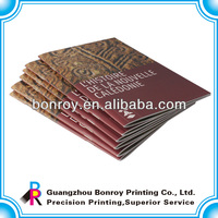 saddle stitch bound catalog printing