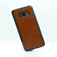Factory Direct sales Waterproof Slim Retro Leather Back Case Cover for Samsung Galaxy S8