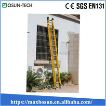 collapsible industrial fiberglass ladder