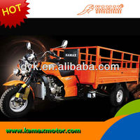 2013 South America 250cc Water Cooled Cargo Adult Tricycle KA250W-R orange Chinese Tricycle