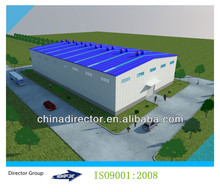 Steel Frame prefabricated steel building vivid workshop data