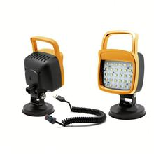 new 2015 Flood/Spot beam husky led rechargeable work light