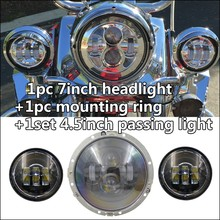 "Competitive price 7"" led headlight, for Jeep 75w 12v 24v 7"" led headlight"