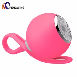 Cute Portable Ball Shaped Small Speaker Waterproof Wireless Mini Speaker