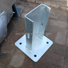 Guardrail U Post/Galvanized U Post/ Galvanized U Post with flange