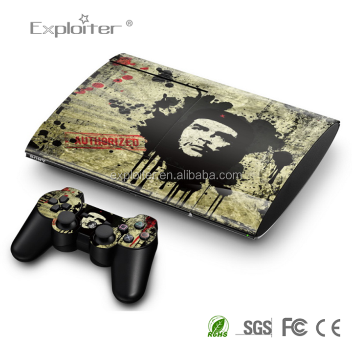 China Supplier Produce vinyl protective sticker for Sony playstation 3 super slim