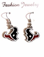 (AE-0005) Free packaging shipping dangling earring wholesale houston texans