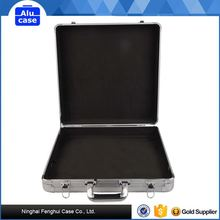 The best choice factory directly aluminum jewelry travel trolley case