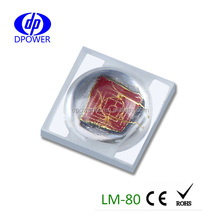 1W 3535 LED chip 620nm red LED SMD shoes LED