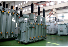 66KV two windings, on-load oil immersed power transformer