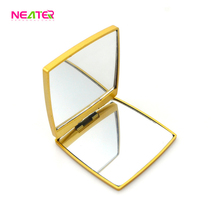 Factory Direct Wholesale Personalised Bling Gold Compact Mirror