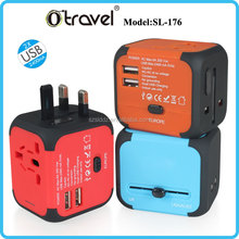 Multifunctional Travel Plug adaptor,table top socket ce rohs approved universal adaptor Suppliers