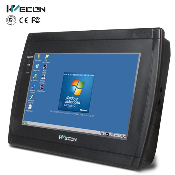 "Wecon tablet pc 7"" industrial touch screen panel pc for automation industry"
