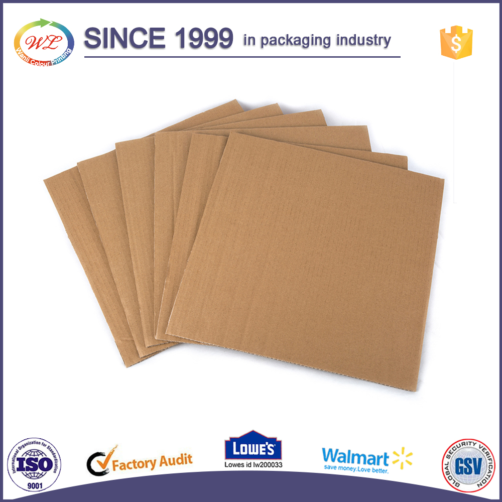 Factory Price Custom Printed Corrugated double ply cardboard