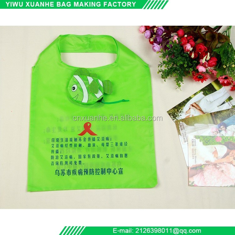 Hot product cheap reusable folding shopping bags with new style