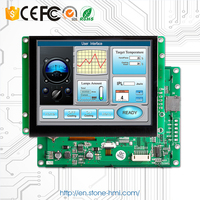 8 inch 800X600 LCD monitor with HMI UART control panel