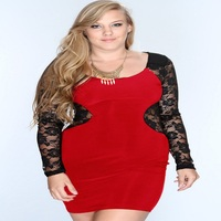 Wholesale hot sexy club mini skirt plus size lace party prom dresses for women