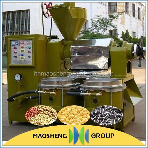 home use hot hydraulic oil press machine