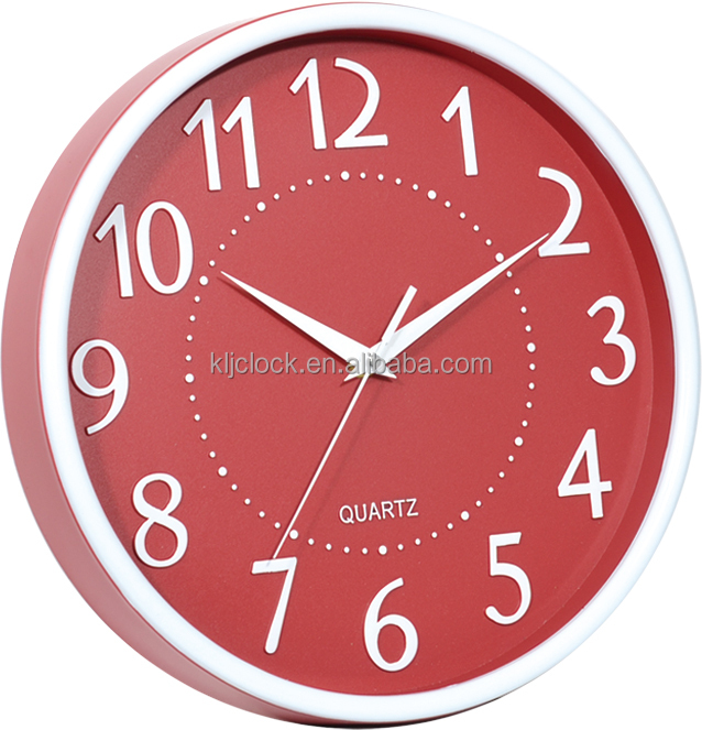 "12"" home time wall clock"