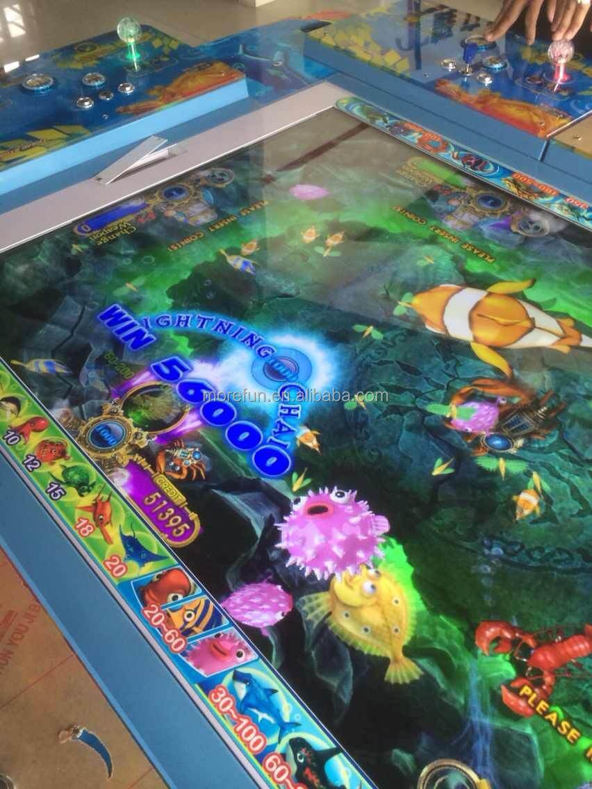 6 8 p original yuehua igs game board ocean star ocean king for How to play fish table game