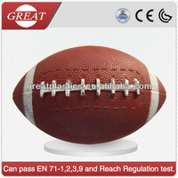 Official size American foot sport ball