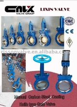 Manual Carbon Steel Casting Knife type Gate Valve