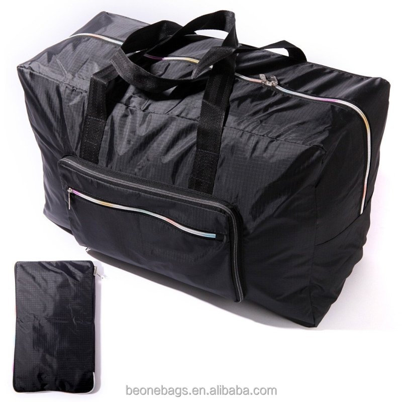 Sports Gym Bag Folding Luggage Bag Expandable Travel Bag