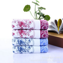 Brand Name towel,Luxury Wome Bath Towel With Flower Pattern