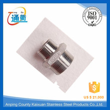 high quanlity and t=heavy weight casting stainless steel screwed long nipples
