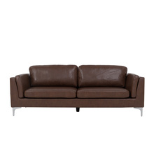 High Quality Vintage Brown PU Leather Fabric <strong>Furniture</strong> Seating Traditional Sofa