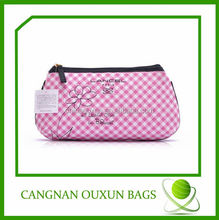 custom high quality eco cotton pen bag