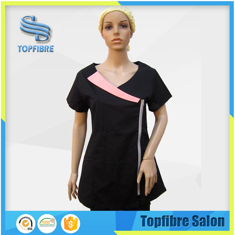 Respond Within 24 Hours Competitive Price B10352 Uniforms Beauty Salon Beautician Uniform