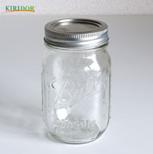 2018 Hot Selling mason jar soap dispenser sipper salt and pepper shakers with metal lids good quality