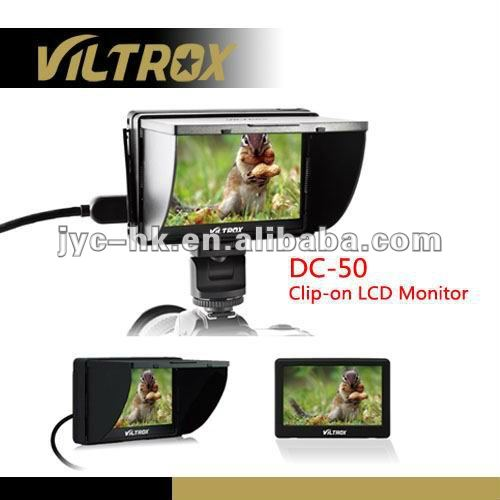 Viltrox 5 inch display screen Portable on-camera HD LCD Monitor for Nikon D5100,D3200,D800 etc