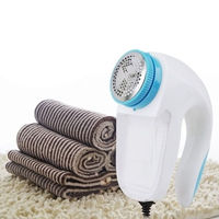Portable Electric Clothes Fabrics Sweaters Lint Fuzz Shaver Fluff Remover