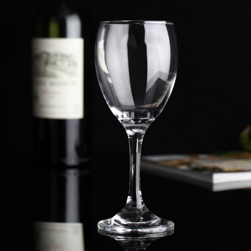 Custom Can Engraved Glass Sparking Wine Goblet