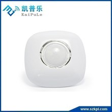 MCU control wireless ceiling zwave motion sensor alarm with 360 degree view